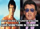 Sylvester Stallone and Rocky Balboa have Something in Common