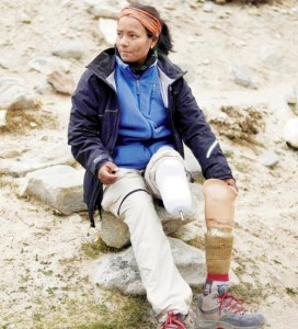 Arunima Sinha Train accident