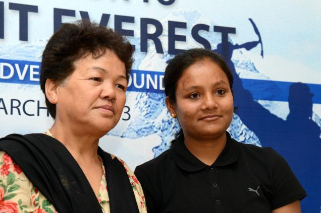 Bachendri Pal is the first Indian female to climb Mount Everest