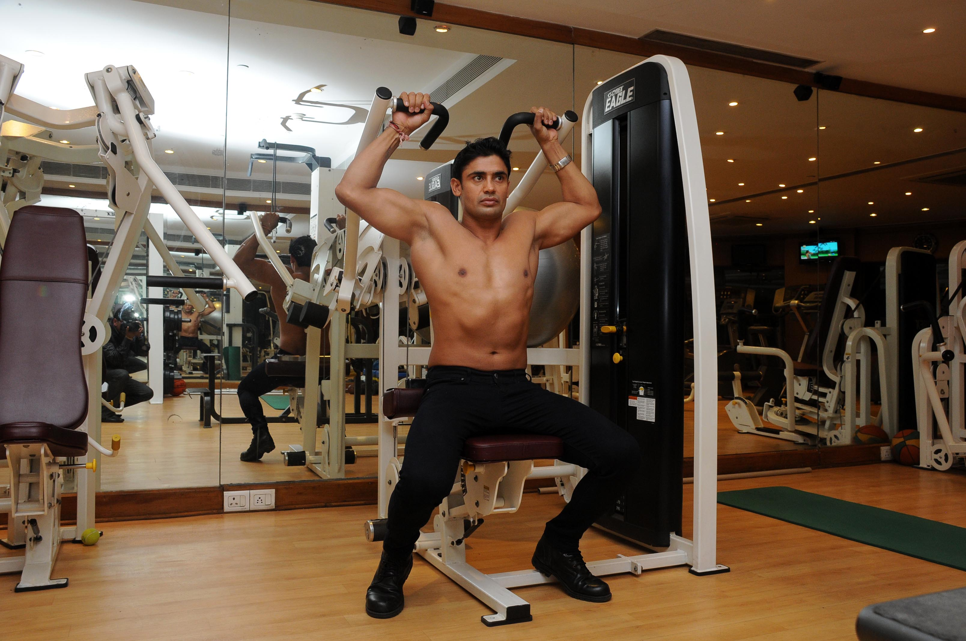 Sangram Singh workout diet