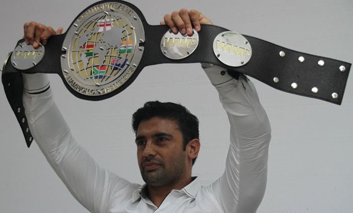 Sangram singh fight in south africa 2015