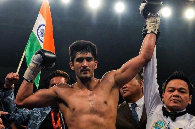 Vijender Singh debut in Professional Boxing Career