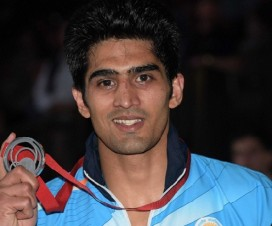 Vijender Singh national Gold medal
