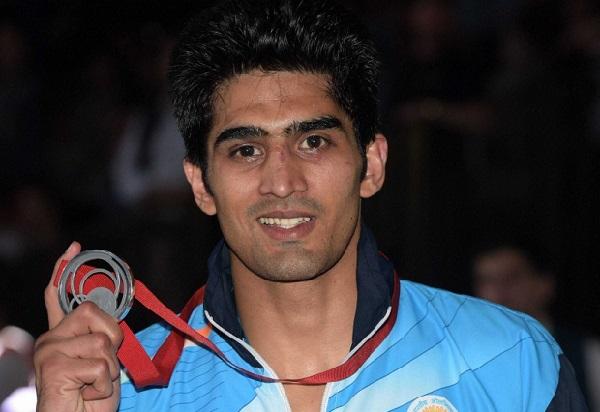 Vijender Singh national Gold medal