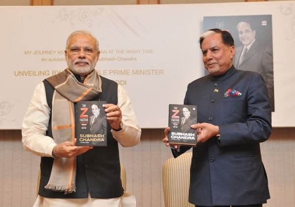 Dr Subhash Chandra Autobiography The Z Factor book