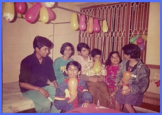 Sushant Singh Rajput's childhood family photo